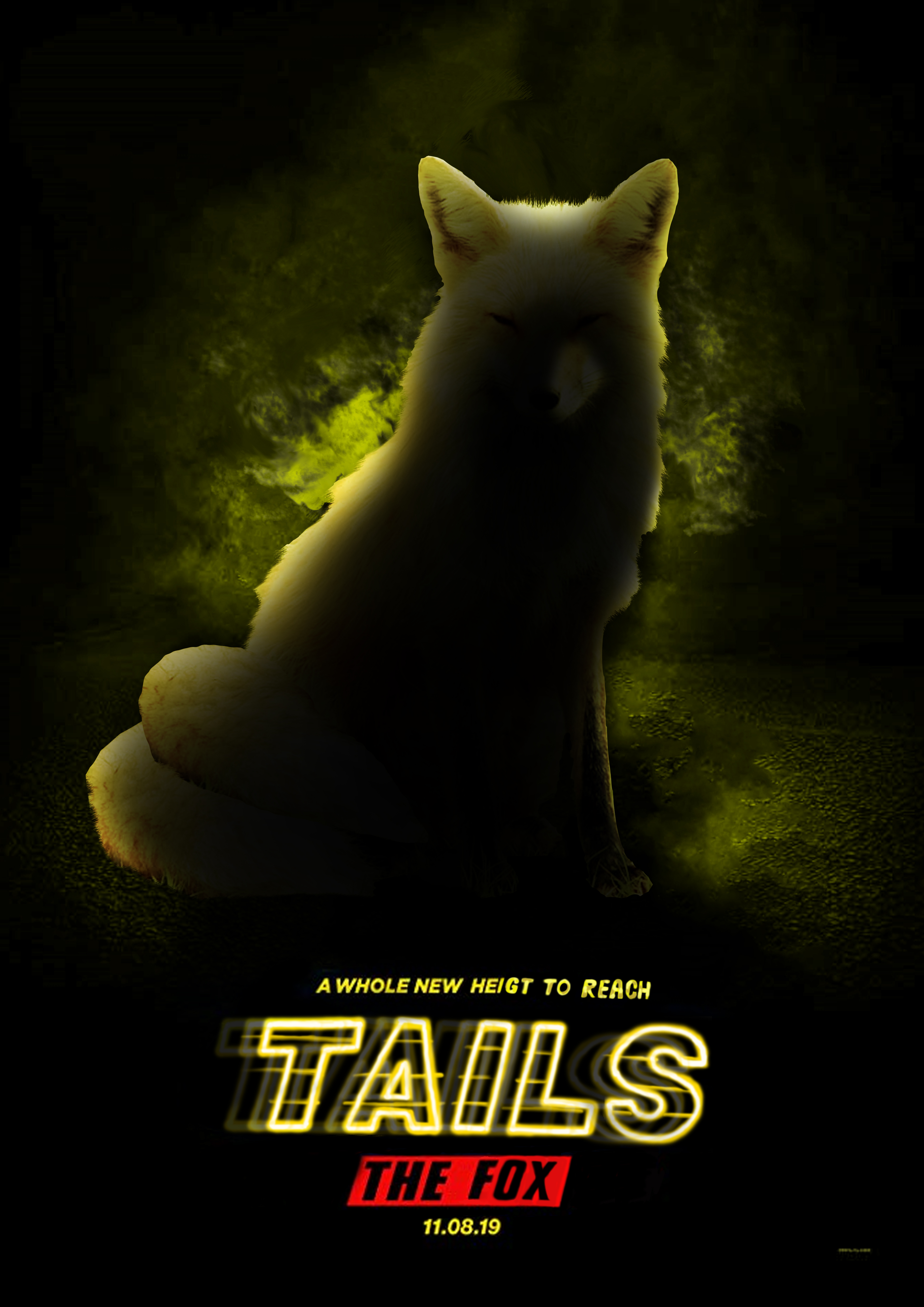 Tails The Fox The Movie Sonic The Hedgehog Movie Poster Parodies Know Your Meme