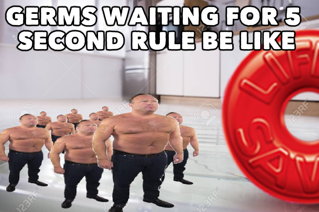 5 second rule | Funny, Laugh, Funny pictures