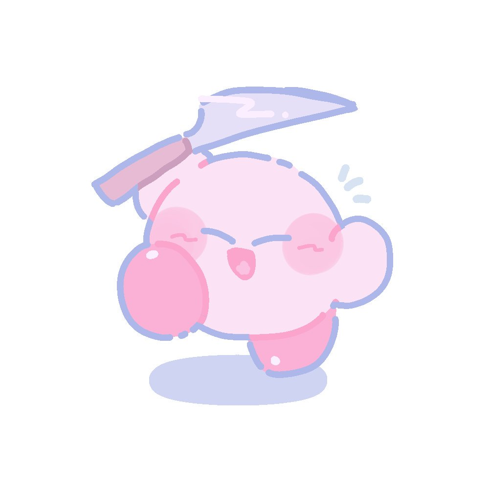 ľ‹ã®ã'¢ãƒ¬ Kirby With A Knife Know Your Meme The epidemic concerning the illustrious kirby threatening the public with his kitchen knife. 例のアレ kirby with a knife know