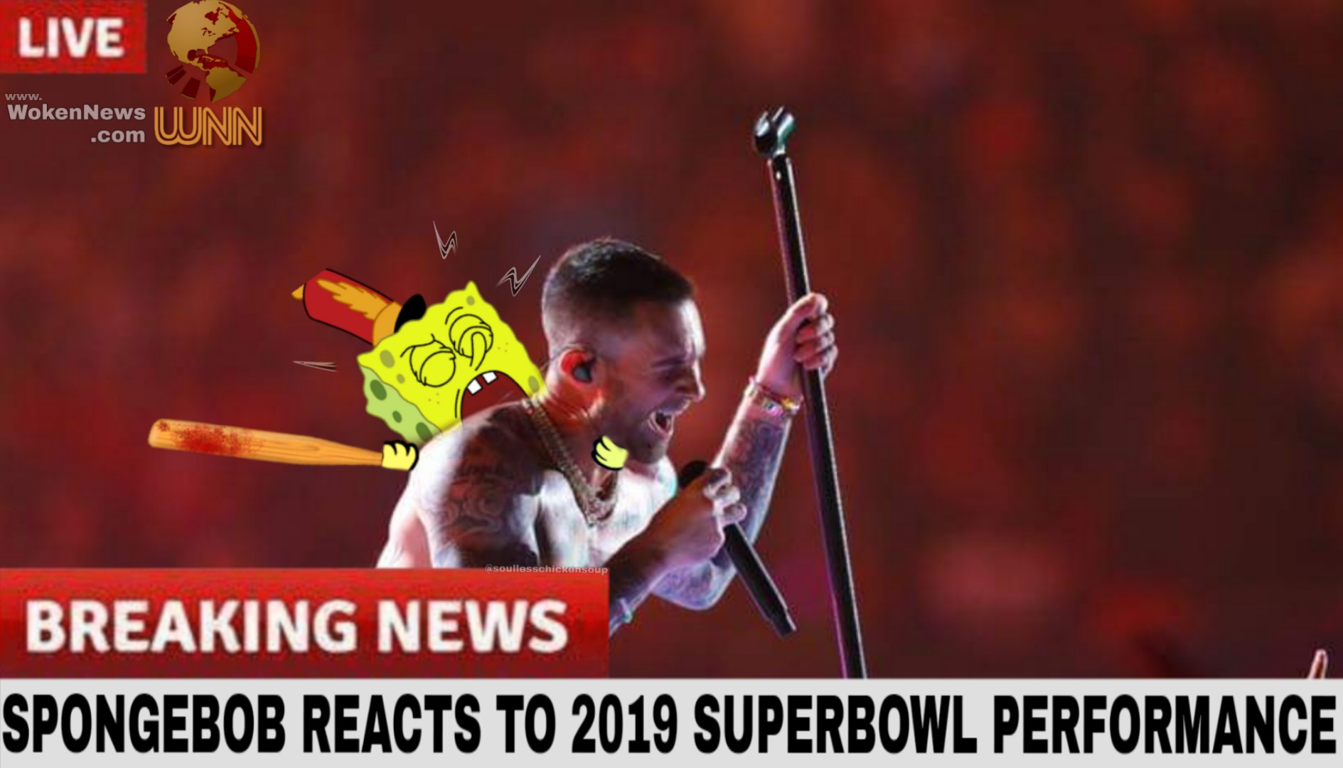 Spongebob reacts to superbowl super bowl liii know your meme