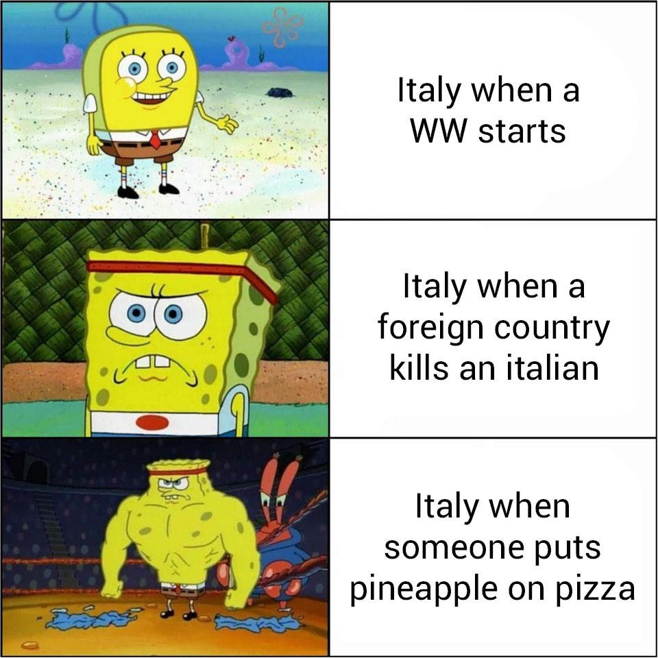 Ltaly when a ww starts ltaly when a foreign country kills an italian italy when someone