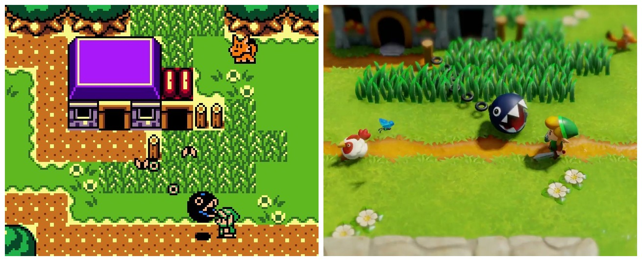 Comparison Of Dx And The Remake The Legend Of Zelda Know Your Meme