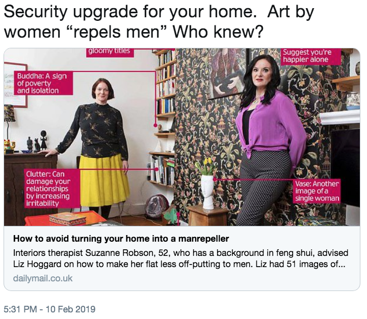 Security Upgrade For Your Home Art By Women Repels Men