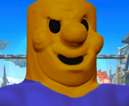 How To Get Big Yellow Heads In Roblox Robloxian Enters The Smash Bros Battle Roblox Know Your Meme