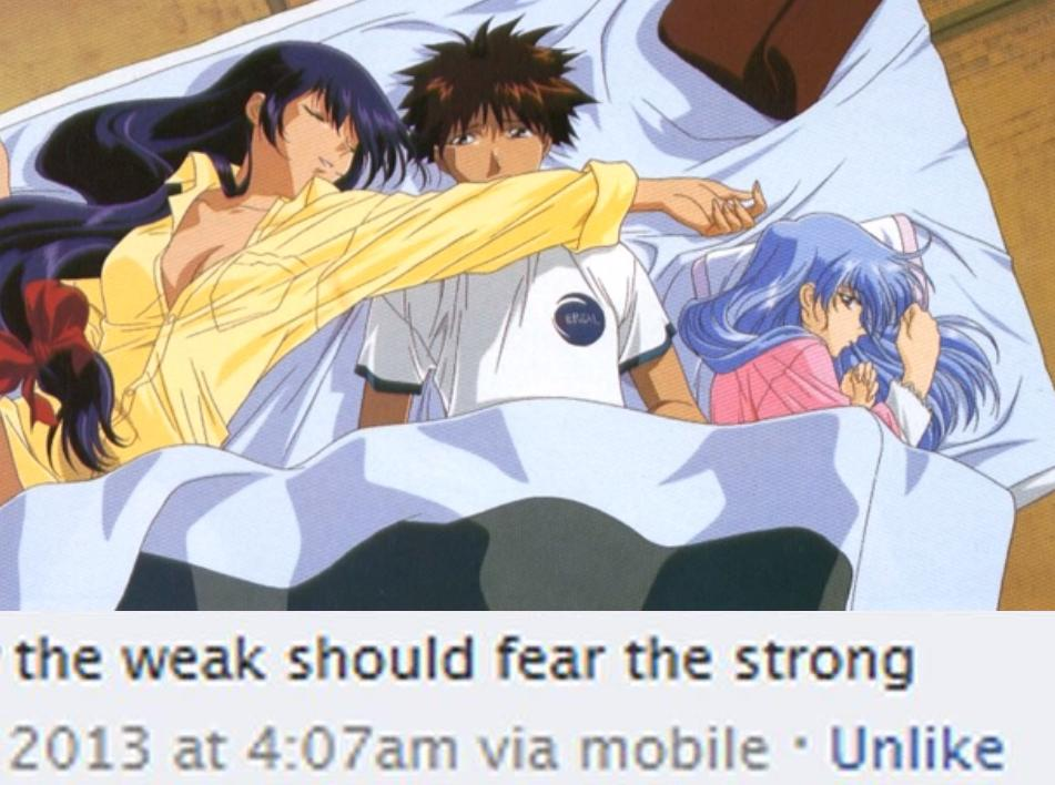 someone help my man | The Weak Should Fear the Strong | Know