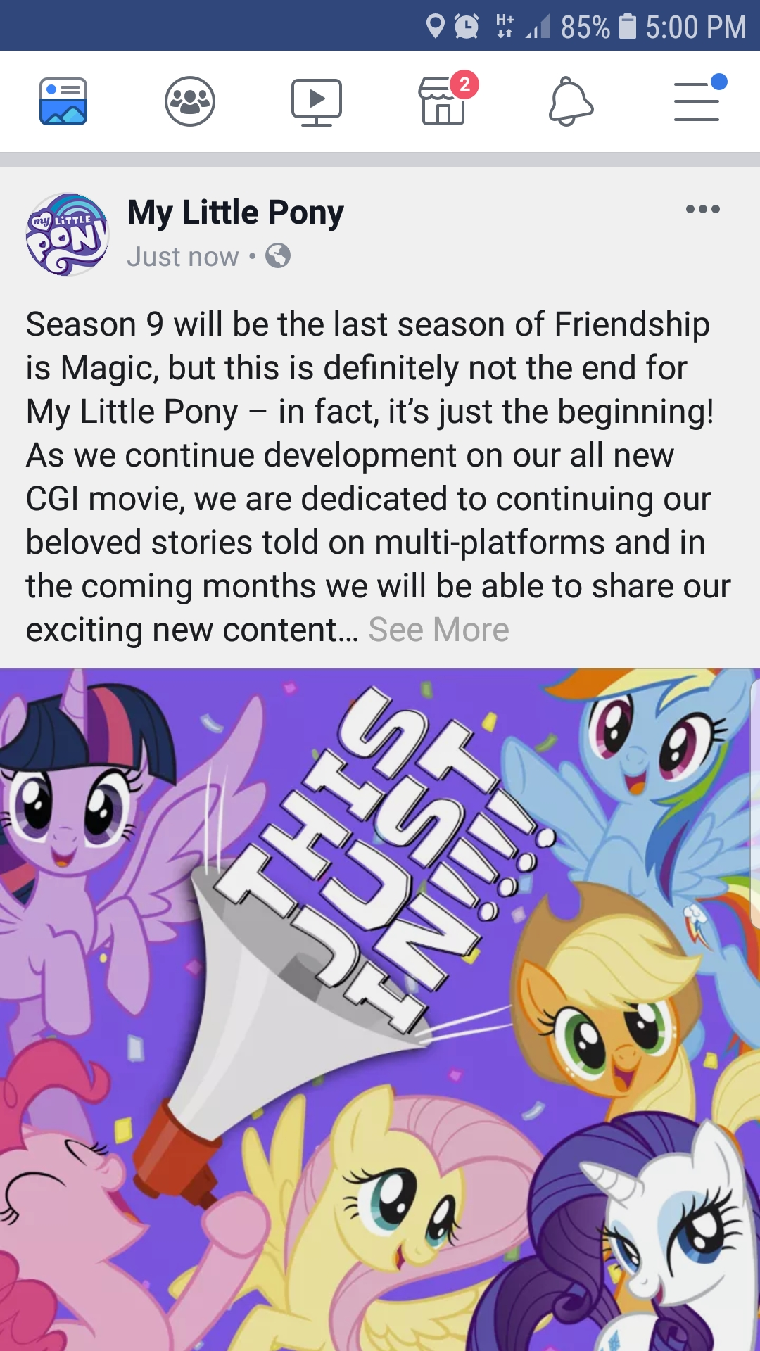 It's over | My Little Pony: Friendship is Magic | Know Your Meme