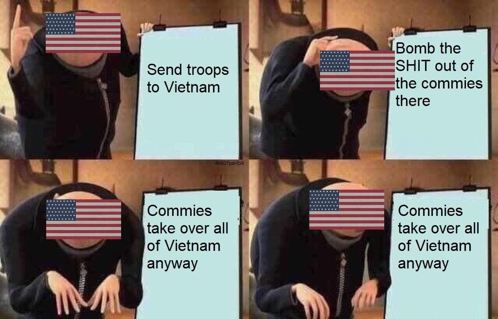 Vietnam War Gru S Plan Know Your Meme