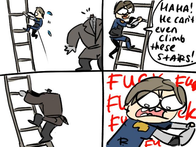 Resident Evil 2 remake doodles 2 by Ayej | Resident Evil 2 Remake