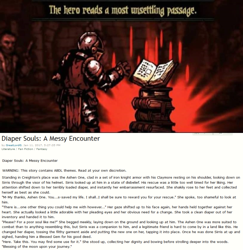 A most unsettling passage indeed    | The Hero Reads a Most