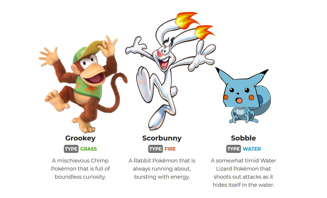 These New Starters Look Great Pokemon Sword And Shield Know