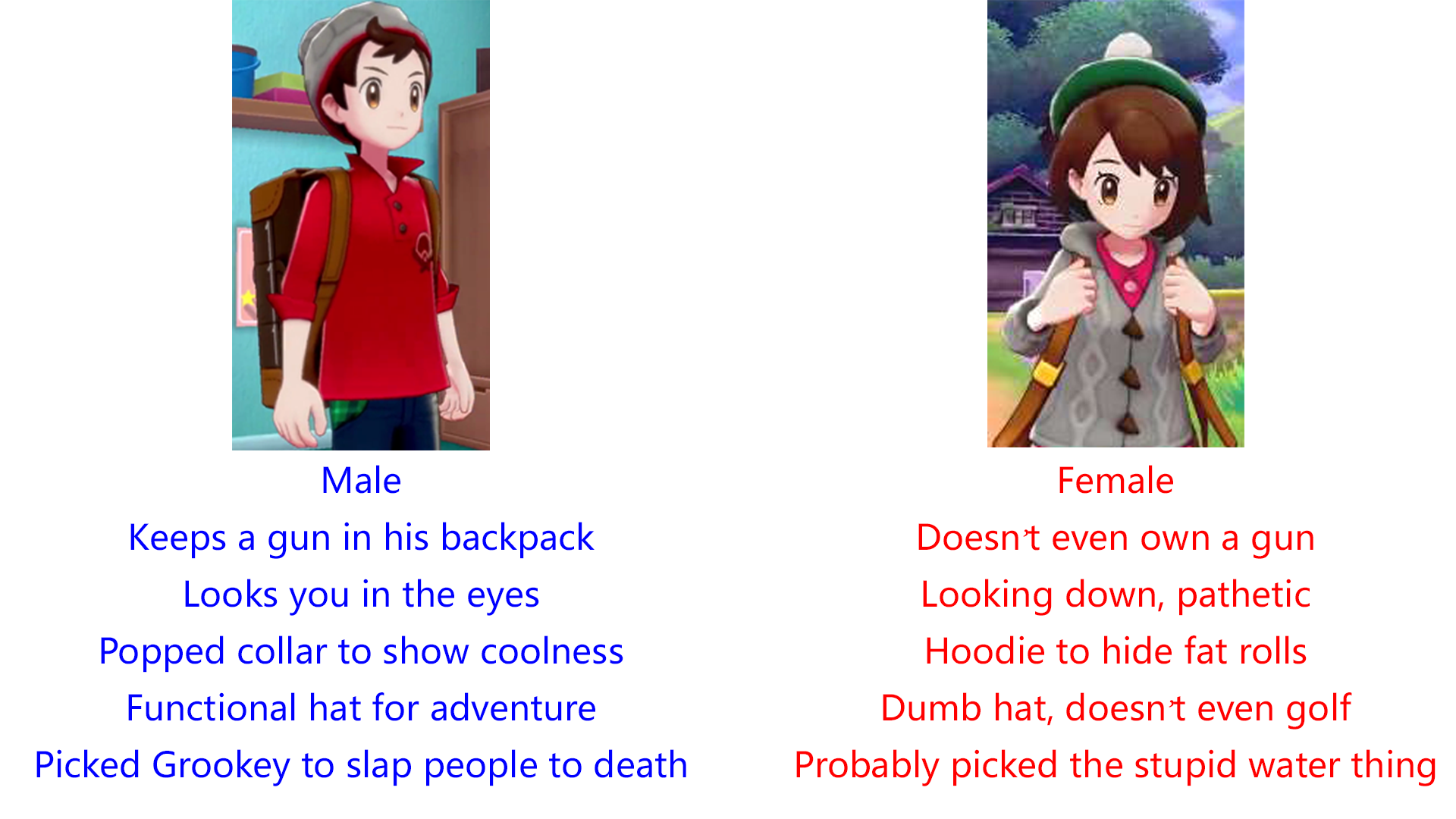 Your Protagan Aifu Is Shit Pokemon Sword And Shield Know Your Meme