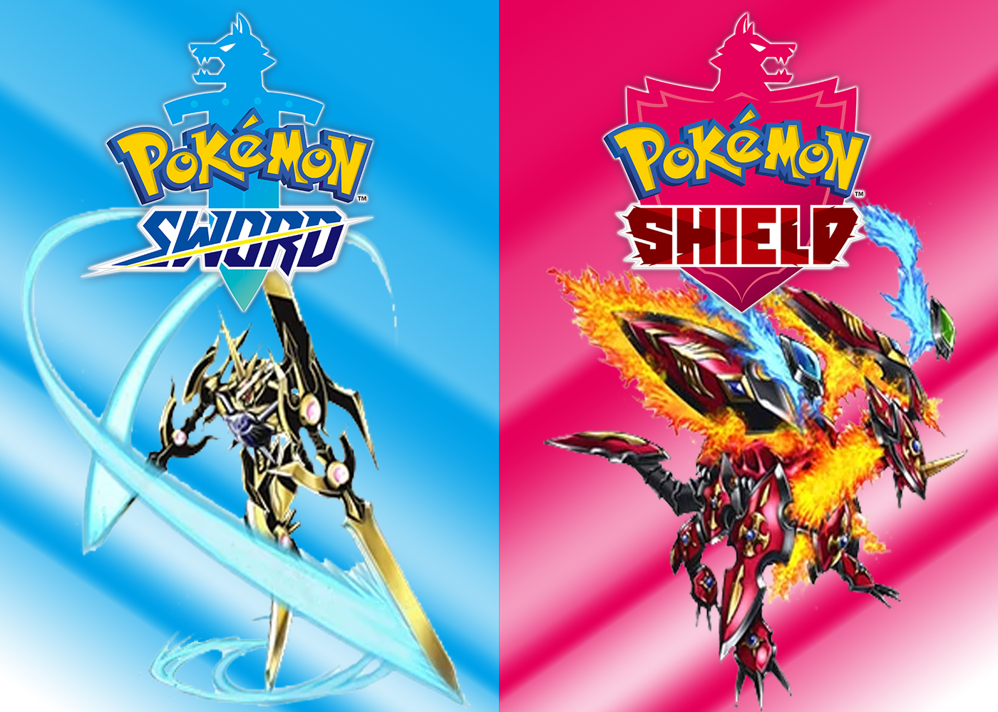 Fake Cover Art For Sword Shield Pokemon Sword And Shield Know