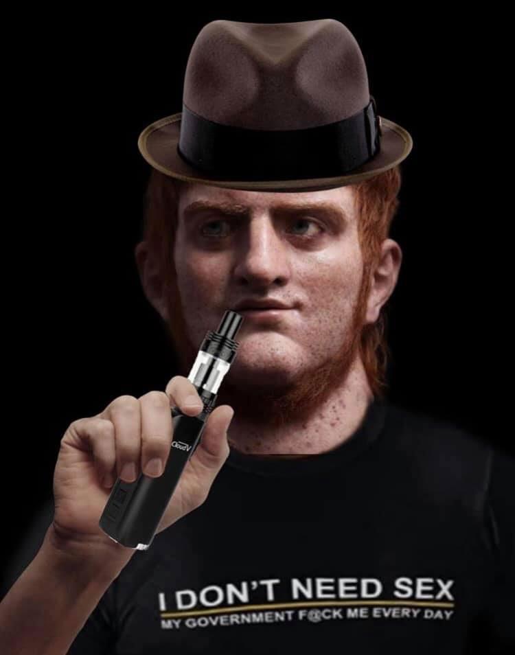 Vaping With Fedora Neckbeard Nero Know Your Meme