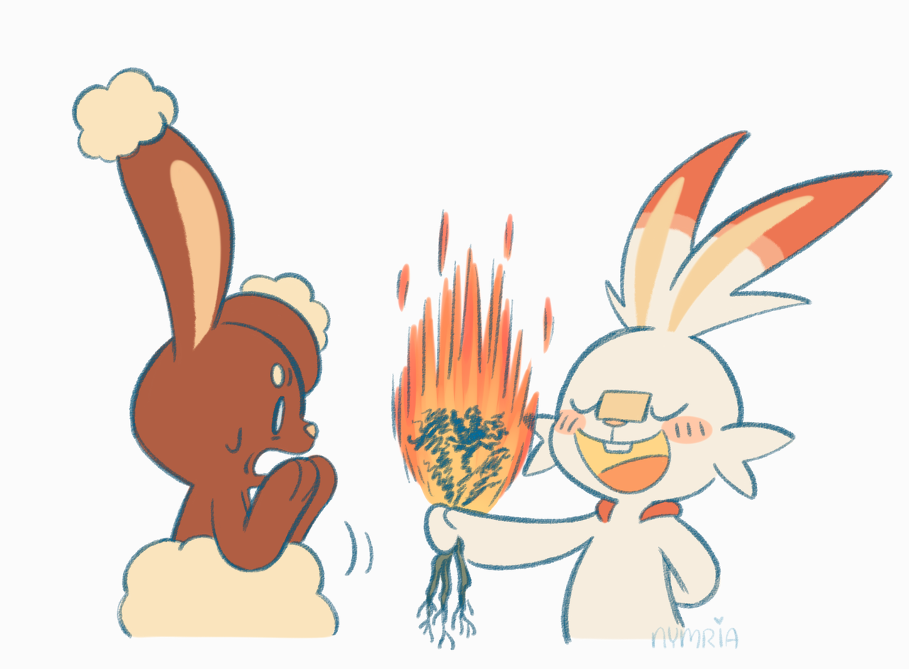Burned Flowers Pokemon Sword And Shield Know Your Meme