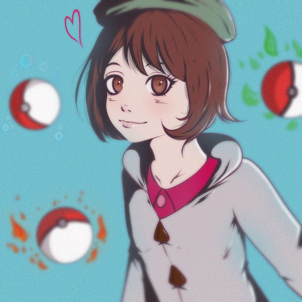 Pokemon Sword Shield Cute Girl Trainer Pokemon Sword And Shield