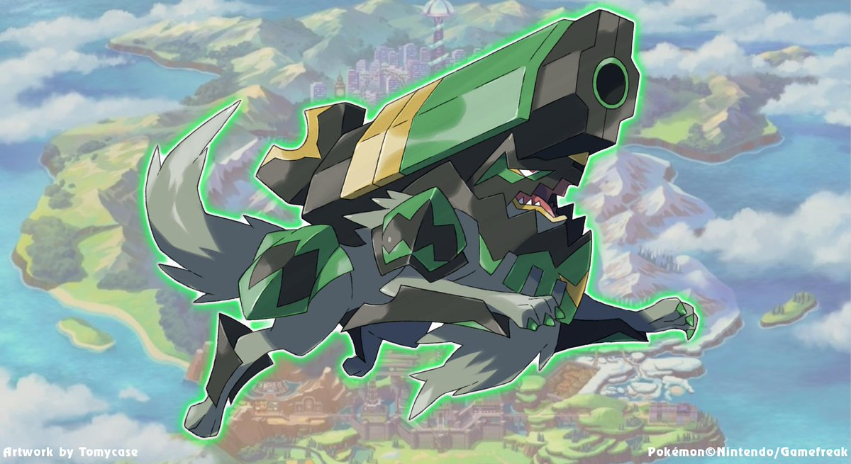 Is That A Wolf It S Got A Gun Pokemon Sword And Shield