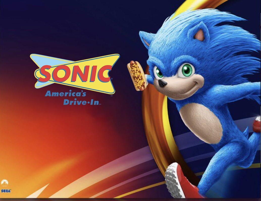 Sonic Drive In Movie Sonic The Hedgehog 2020 Film Know Your Meme