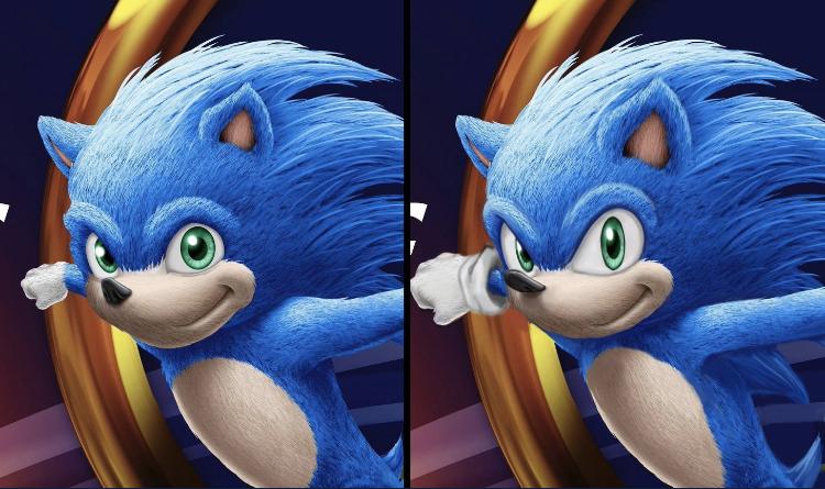 Design Comparison Sonic The Hedgehog Know Your Meme