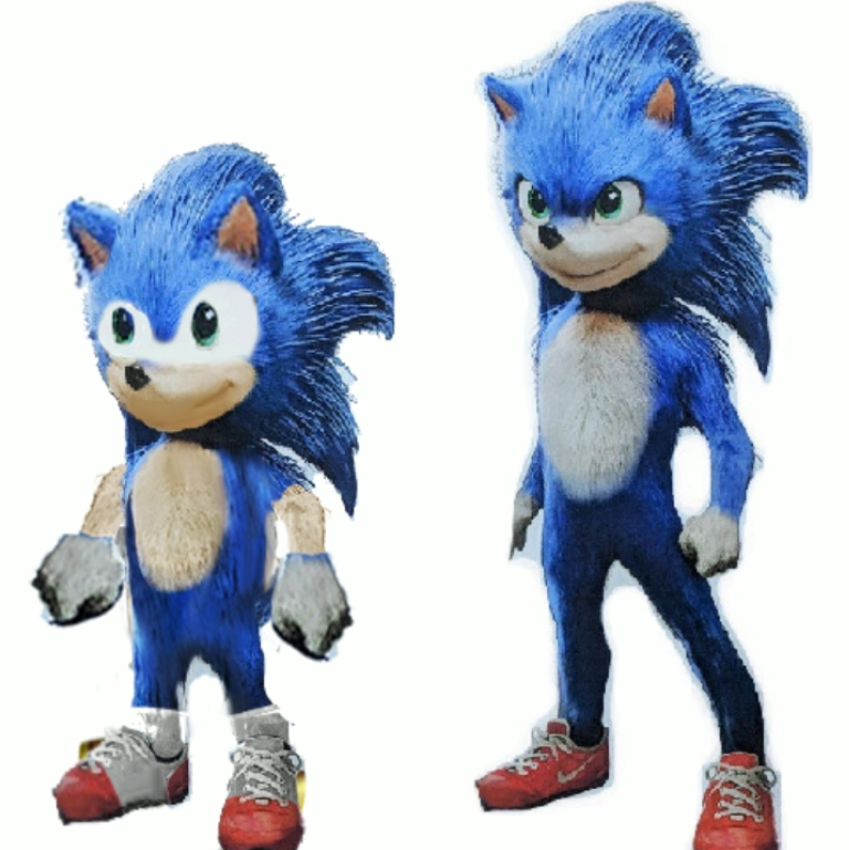 Joel Fixed Him Sonic The Hedgehog 2020 Film Know Your Meme