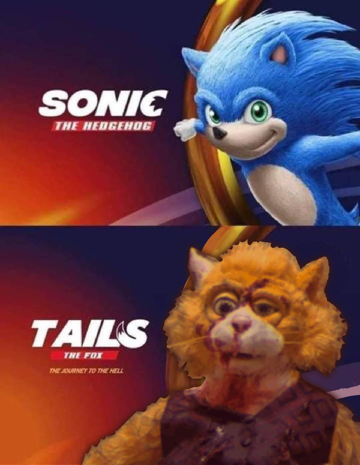 sonic the hedgehog 2019 meme