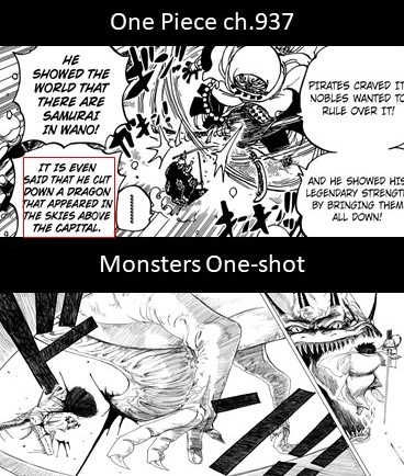 Oda's Monsters One-Shot Reference   One Piece   Know Your Meme