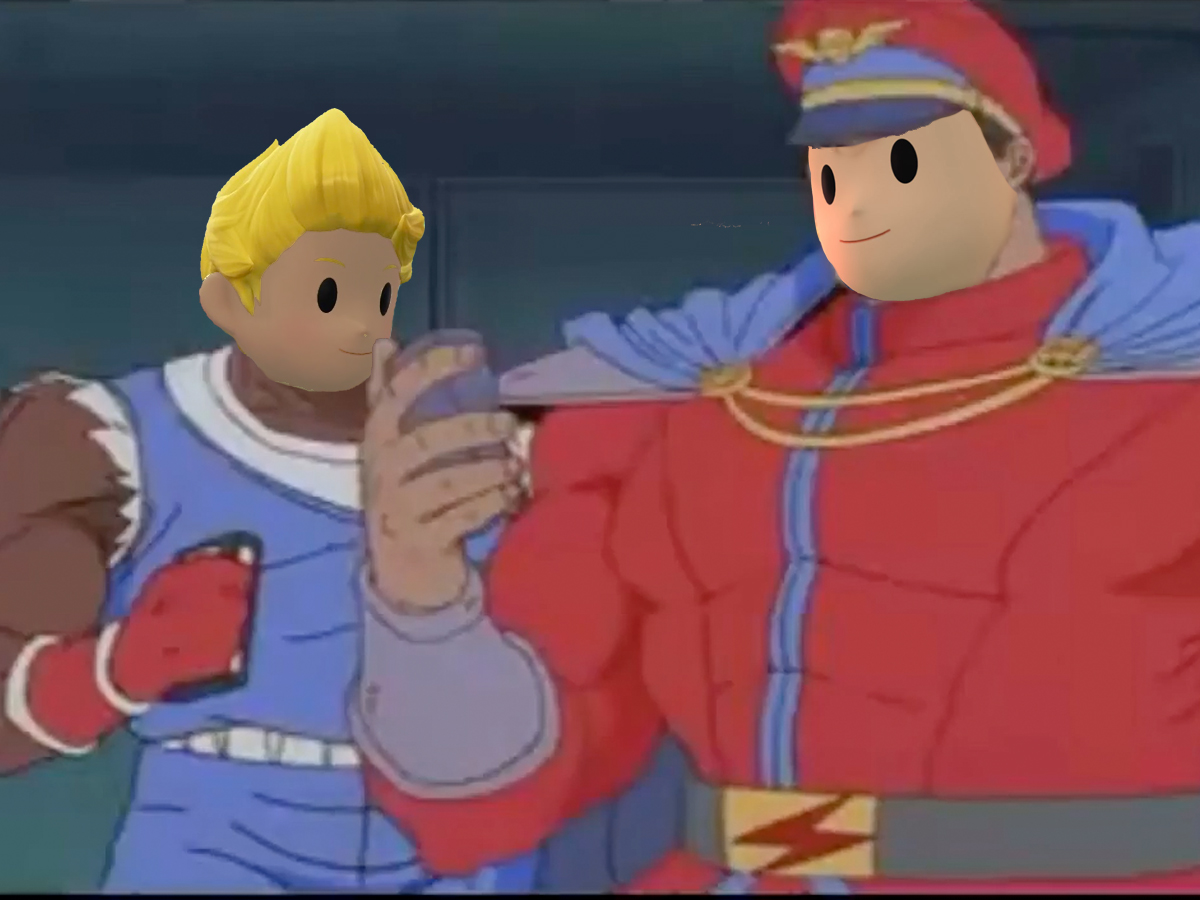 When a PK Thunder Lands a Hit   Super Smash Brothers