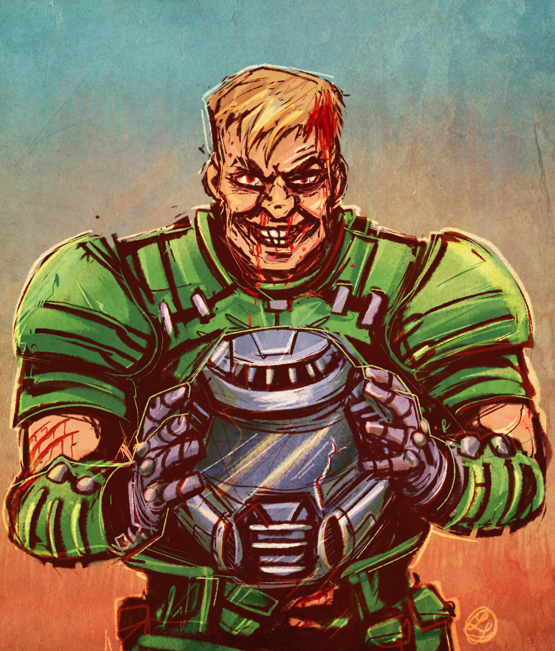 Uuuuuuuu Its The Doomguy Doom Know Your Meme