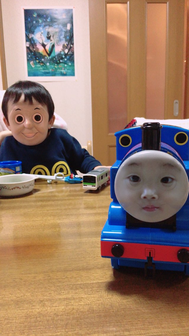 Thomas The Asian Engine Face Swap Know Your Meme