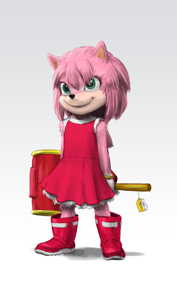 Amy In Movie Style Sonic The Hedgehog Know Your Meme