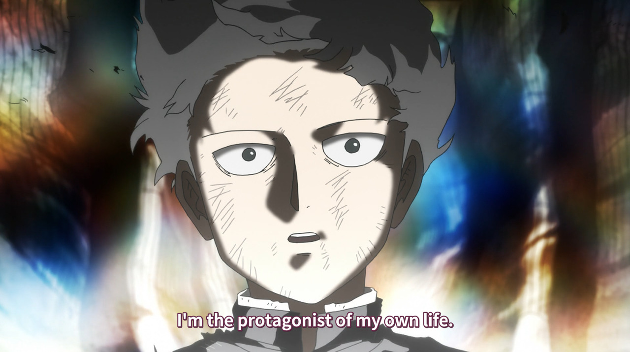 your life is your own | Mob Psycho 100 | Know Your Meme