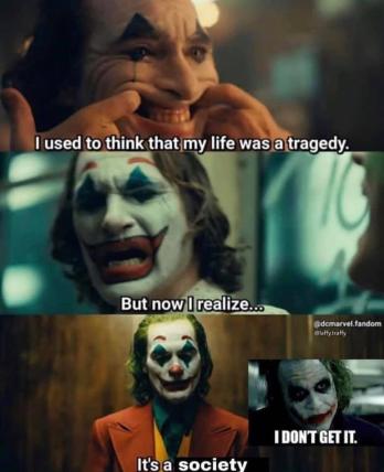 Bottom Text Joker 2019 Film Know Your Meme
