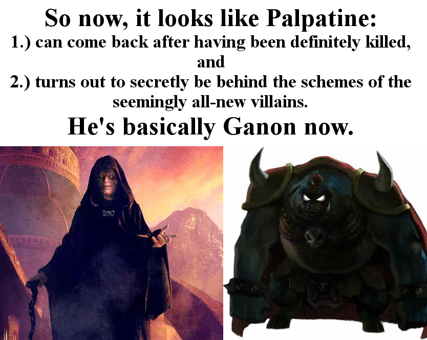 Basically Ganon Star Wars The Rise Of Skywalker Know Your Meme