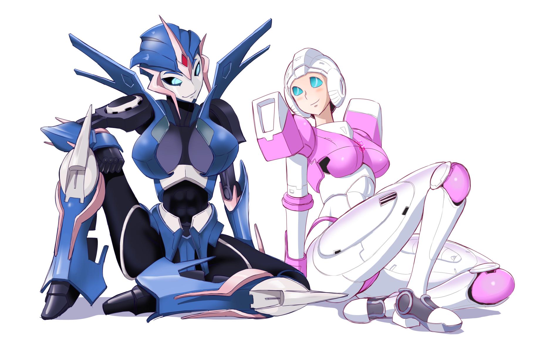 Hot nude transformer girls