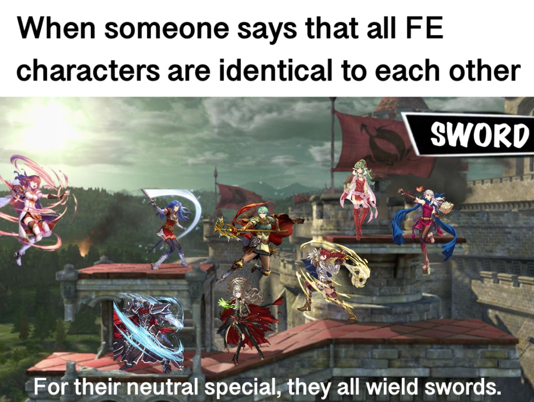 But Fire Emblem Has Lances Axes Tomes Dragonstones Not
