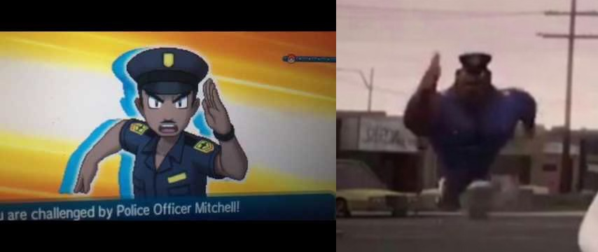 Same Energy Running Officer Earl Know Your Meme