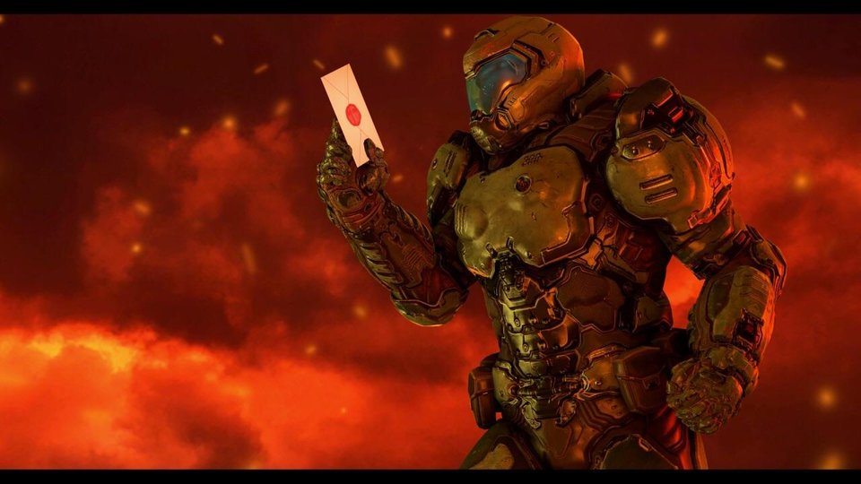 Doomguy Gets The Invite Super Smash Brothers Ultimate Know