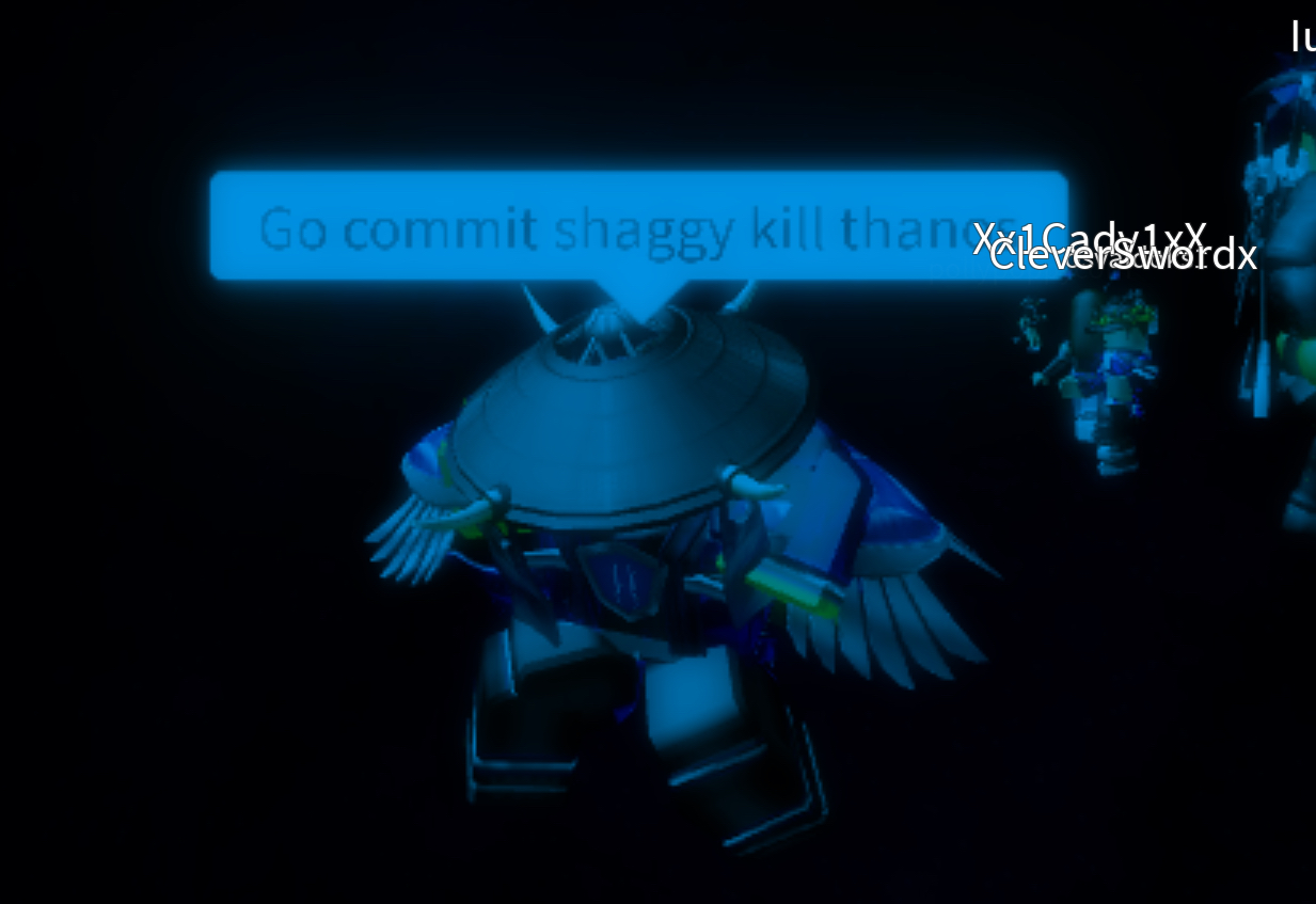 In A Roblox Game Gocommitdie This Meme Go Commit Shaggy Kill Thanos Was Made By Roblox User Pug2127 Don T Mind If I Made Dis Lol Go Commit Die Know Your Meme