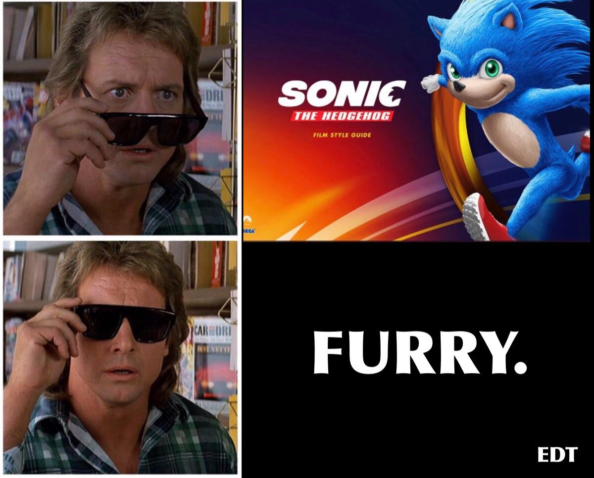 Sonic The Bottomhog Sonic The Hedgehog 2020 Film Know Your Meme