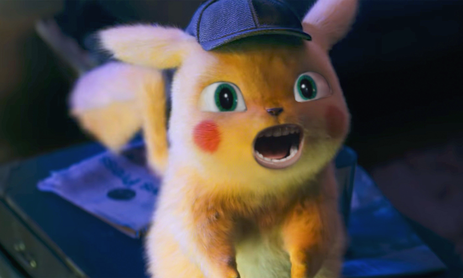 Detective Pikachu With Sonic S Eyes And Mouth Sonic The Hedgehog