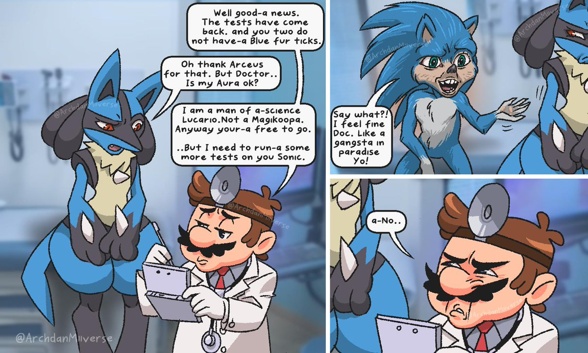 Modern medicine can't fix this... | Sonic the Hedgehog ...