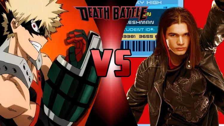 Katsuki Bakugou Vs Warren Peace Death Battle Know Your Meme