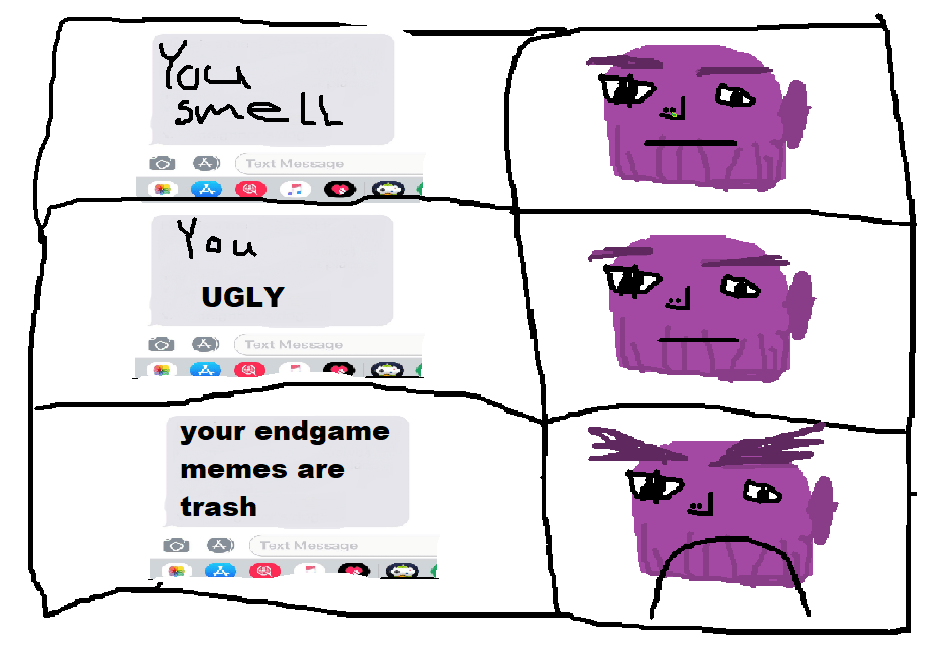 THANOS MAD | Know Your Meme