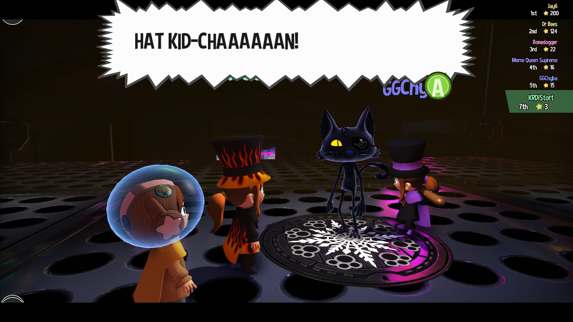 Meowjima A Hat In Time Know Your Meme