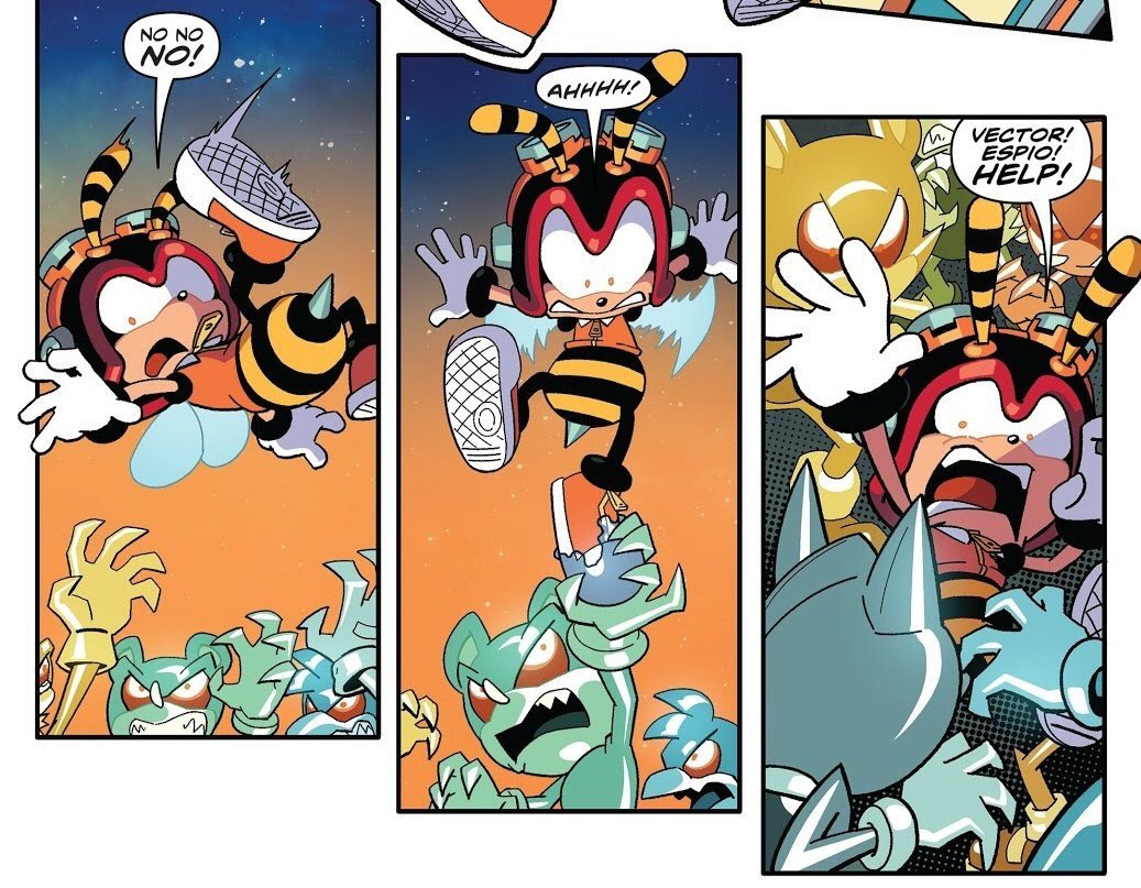 The Death Of Charmy Sonic The Hedgehog Know Your Meme