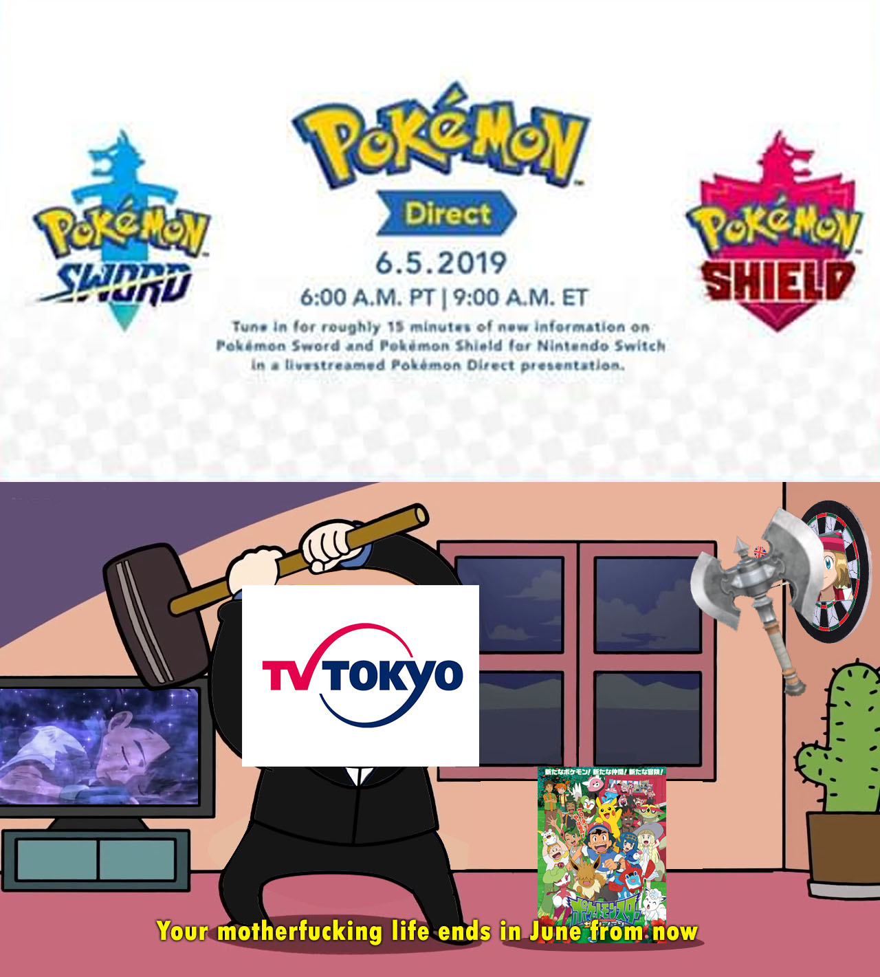Your Motherfucking Life End In June Pokemon Sword And Shield