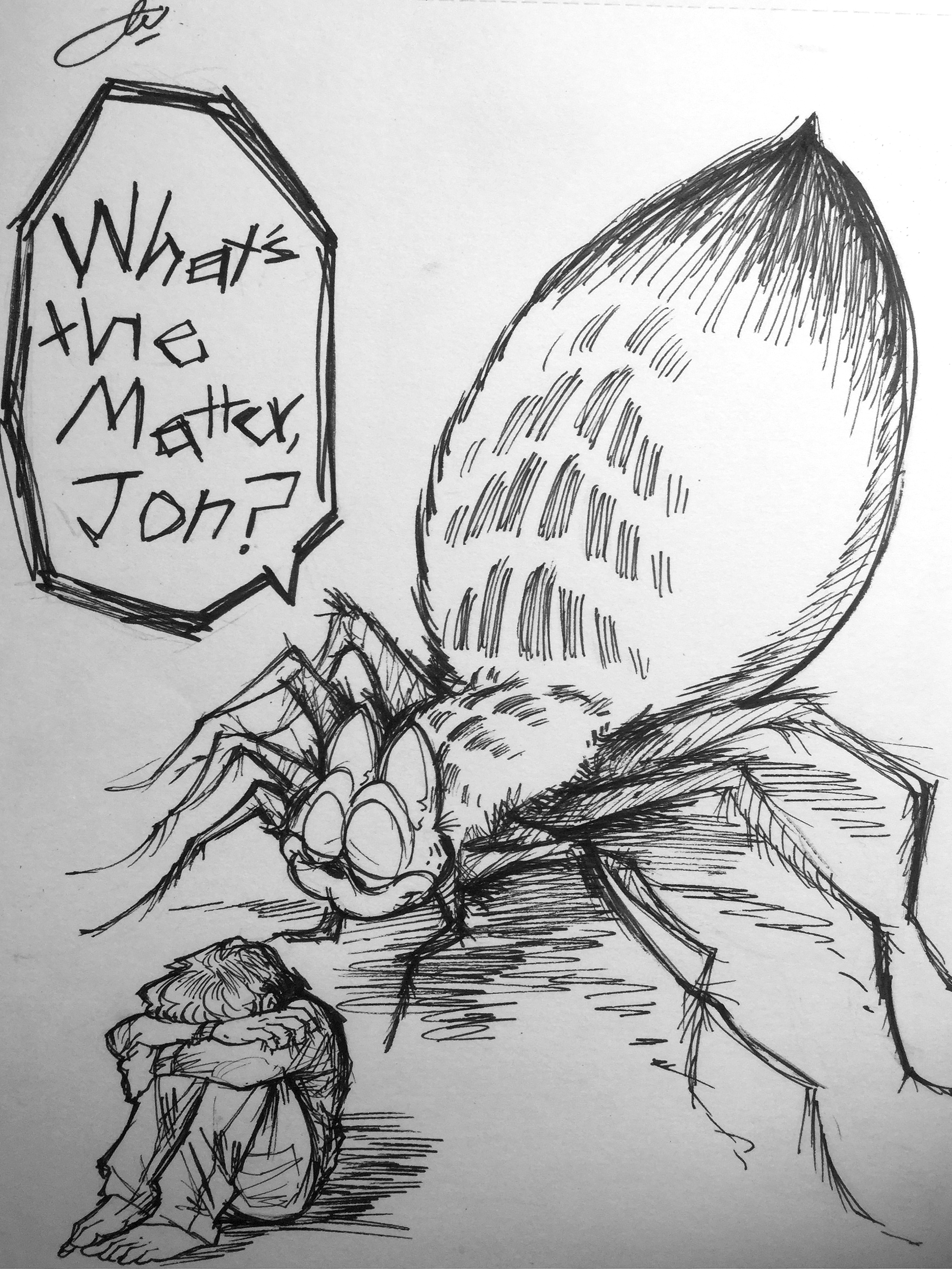 What S The Matter Jon Creepy Garfield Know Your Meme
