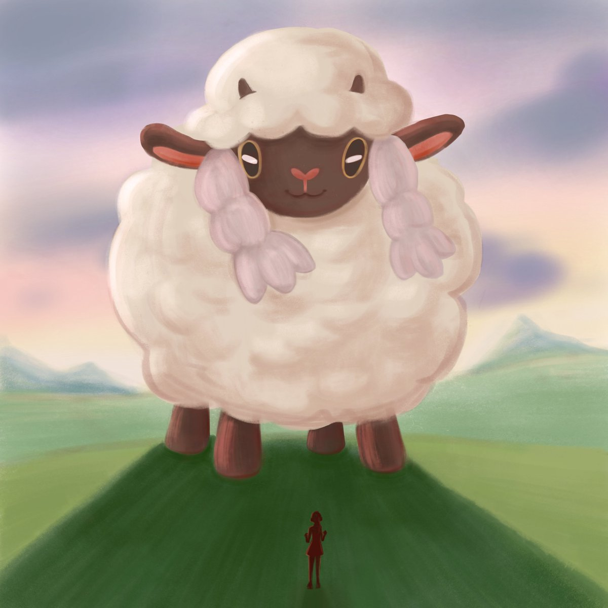 Imagine Dynamax Wooloo So Much Fluff Wooloo Know Your Meme