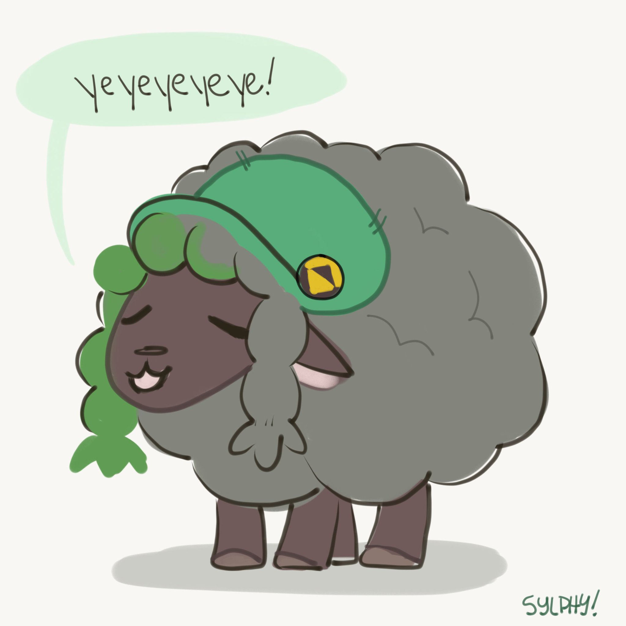 Black shiny Wooloos or what's the point? by syl_phy   Wooloo