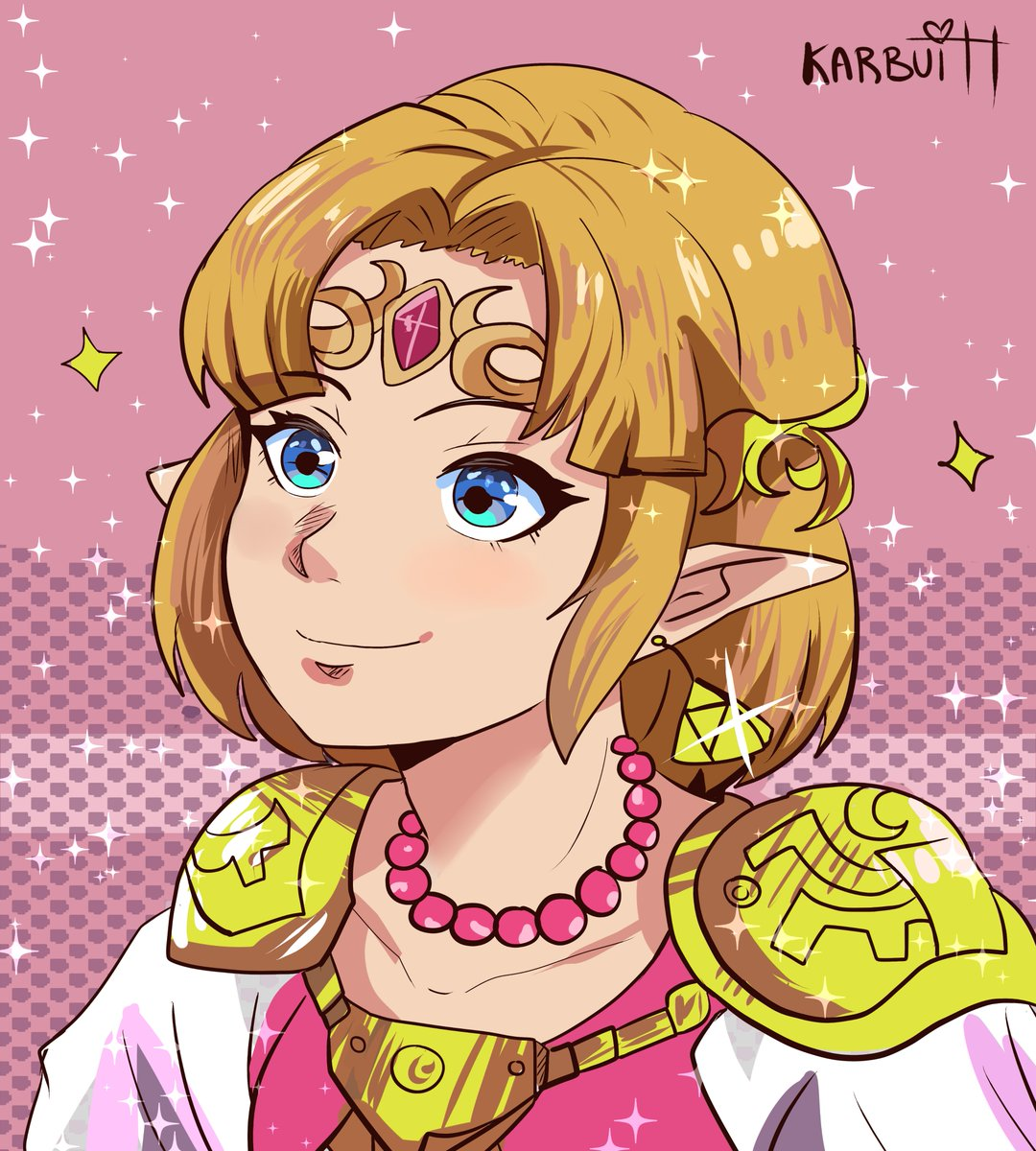 A New Style For Her Short Hair Zelda The Legend Of Zelda Know Your Meme