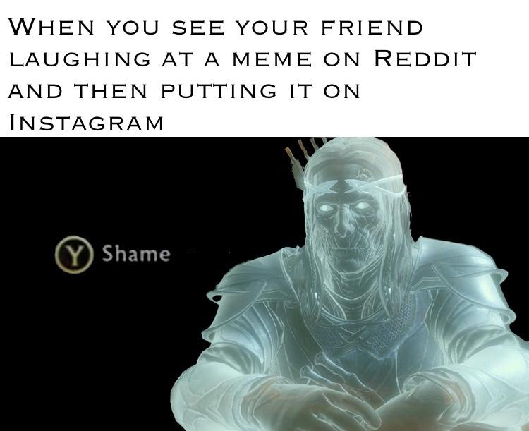 reddit and insta | Press Y to Shame | Know Your Meme